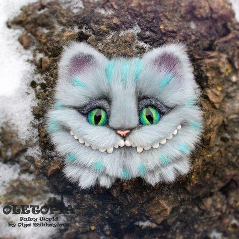 Чеширский кот своими руками фото 517