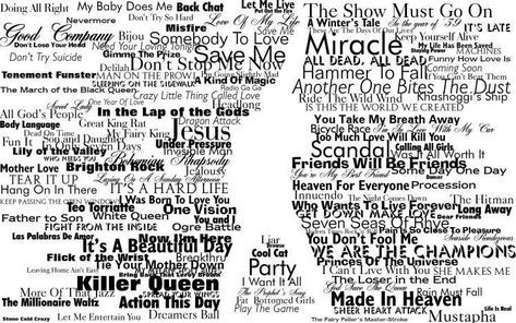 Typography Freddie Mercury Queen Silhouette Hd Wallpaper Freddie Mercury Quotes Queen Lyrics Freddie Mercury