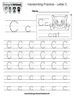 14+ Handwriting worksheets letter c Popular