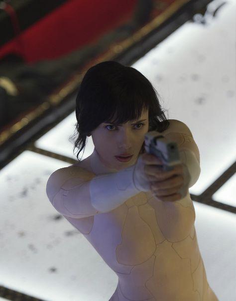 Scarlett Johansson as Motoko Kusanagi - Ghost In The Shell