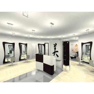 Beauty Salon Floor Plans |   - 2D - 3D Plan - Salon Plan - First