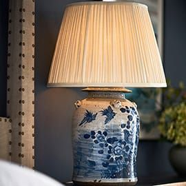 Fenghuang Ceramic Table Lamp Ceramic Table Lamps Lamp Blue And White Lamp