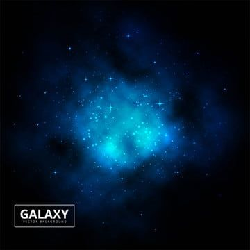 Creative Blue Hand Painted Realistic Wind Starry Sky Pattern Galaxy Clipart Interstellar Cloud Universe Png Transparent Clipart Image And Psd File For Free D Clip Art Hand Painted Star Background