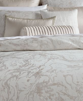 Hotel Collection Marble King Duvet Cover Created For Macy S Tan Beige Marble Duvet Cover Hotel Collection Mattress Furniture