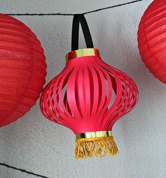 How To Make Chinese Lanterns Chinese Lantern Printable With