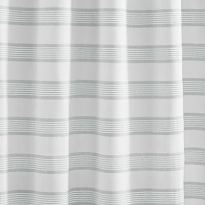 Product Image For Vera Wang Linear Stripe Shower Curtain 2 Out Of 2 Striped Shower Curtains Shower Curtain Curtains