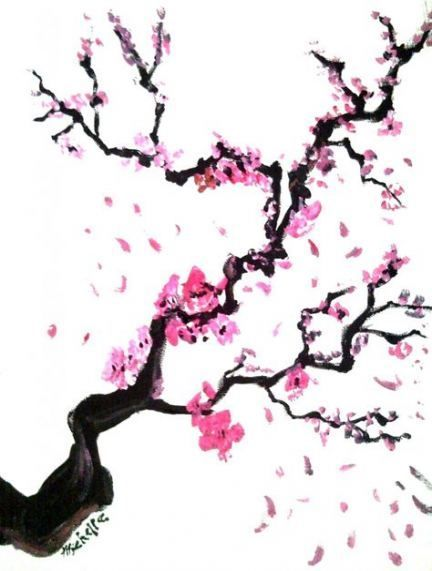 Best Cherry Blossom Tree Drawing Awesome Ideas Drawing Tree Cherry Blossom Art Cherry Blossom Drawing Blossom Tree Tattoo