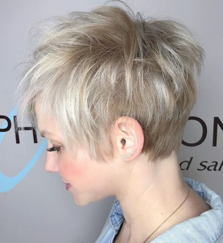 18++ Haircuts that add height to crown trends