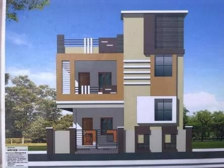 Image Result For G 1 Elevations In Hyderabad Small House Elevation Design Small House Design House Arch Design