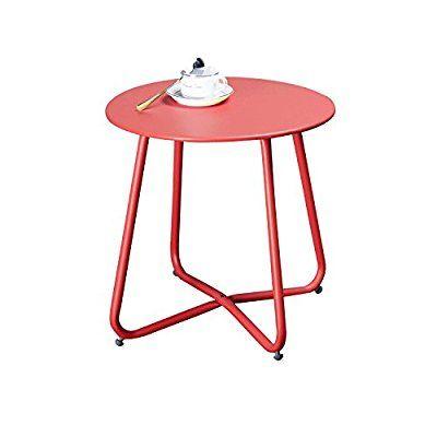 Amazon Com Grand Patio Steel Patio Coffee Table Weather