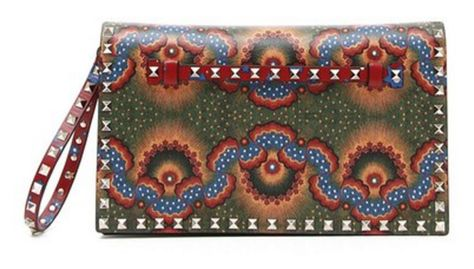 Loving this Valentino clutch