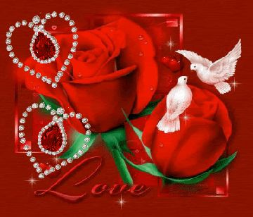 Red Rose Glitter