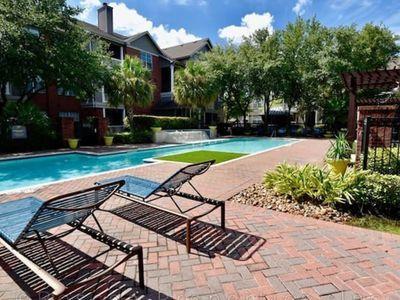 Luxuryfurnishedapartment Medical Centre Houstond36 Houston Vacation House Rental Pool Houses