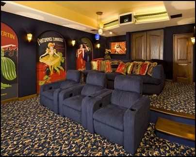 Movie Themed Room Ideas | movie+themed+posters-home+theater+ ...