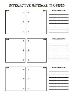 Image result for dinah zike's notebook foldables for