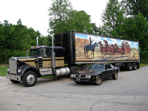 "18 Wheel Beauties: Truck Replica: Snowman's Rig from ""Smokey & The Bandit"""
