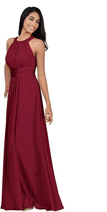 Alicepub Sleeveless Formal Party Evening Dress Long Maxi Bridesmaid Dresses