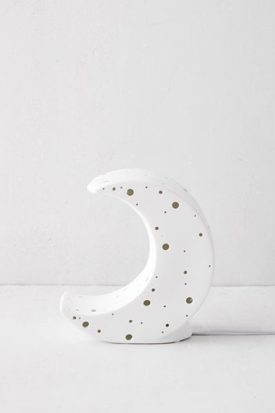 Sculpted Moon Table Lamp In 2021 Moon Table Table Lamp Lamp