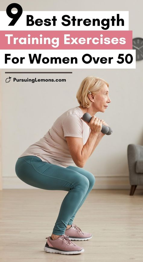 Weights Workout For Women, Fitness Workout For Women, Fitness Tips, Weights For Women, Easy Workouts, At Home Workouts, Strength Training Workouts, Training Exercises, Strength Training Women