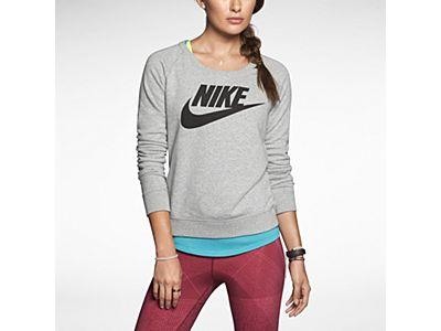 wyglądają dobrze wyprzedaż buty gorąca sprzedaż online gorąca sprzedaż online Damska bluza Nike Rally Crew | Sporty is my Style | Nike ...