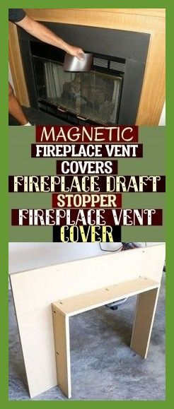 Magnetic Fireplace Vent Covers Fireplace Draft Stopper Fireplace