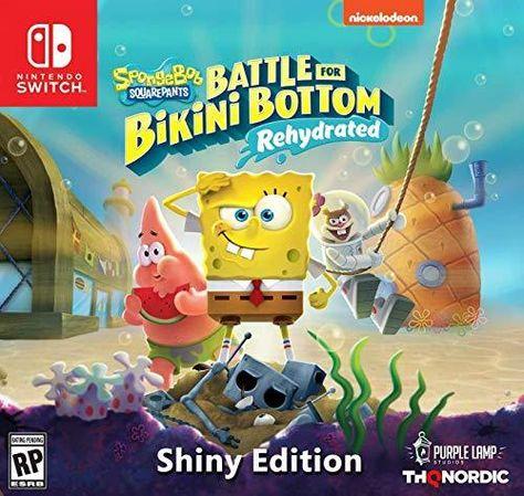 THQ Nordic Spongebob Squarepants: Battle for Bikini Bottom - Rehydrated - Nintendo Switch / Shiny Edition