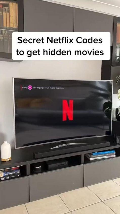 Secret Netflix codes that bring up hidden movies🔥�