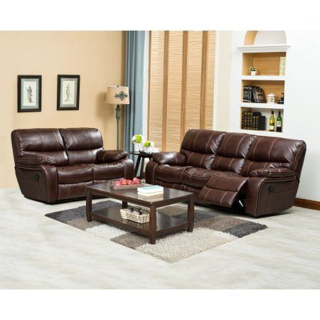 Home Source Bryant Sofa And Loveseat Recliner Walmart Com Couch And Loveseat Set Couch And Loveseat Buy Living Room Furniture