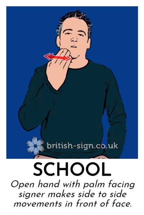School - British Sign Language (BSL)