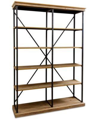 Jaxon Bookcase Quick Ship Bookcase Wood Shelves Cool Furniture