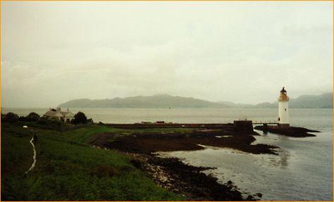 Leuchtturm  Rubha nan Gall (Schottland)