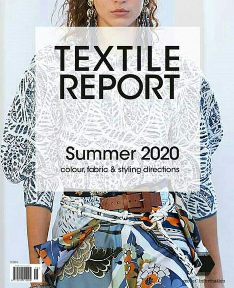Textile report summer 2020 in 2019