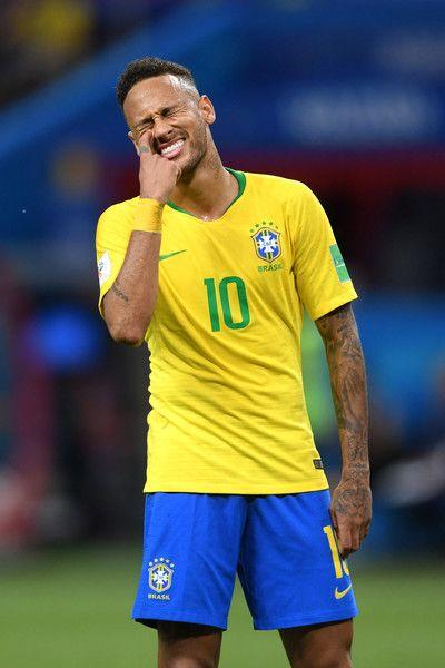Neymar Jr Photos Photos Brazil Vs Belgium Quarter Final 2018 Fifa World Cup Russia Neymar Neymar Jr Fifa World Cup