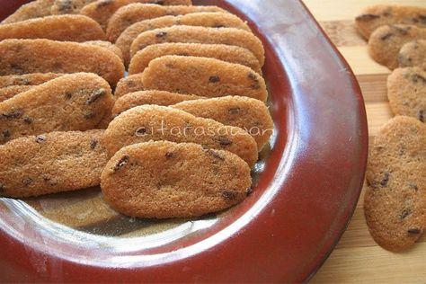 Resipi Citarasawan Koleksi Resepi Kakwan Biskut Lidah Kucing Mocha Mocha Food Cookies
