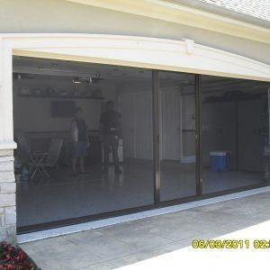 Pull Down Screen Door For Garage Garage Screen Door Garage Doors Sliding Screen Doors