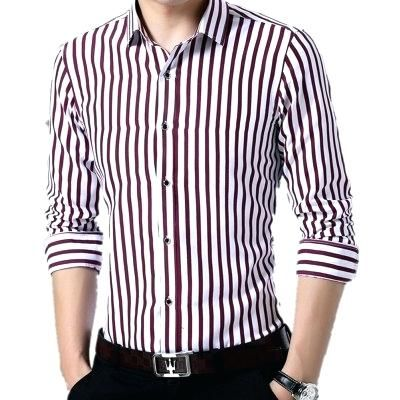 cdad06bbb03 vertical striped shirt mens printed long sleeve with stripes blac ...