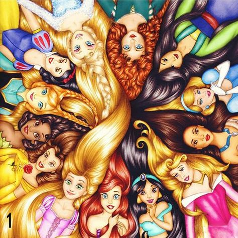 5D DIY full / square / Round drill diamond painting Cross stitch Disney Princesses embroidery house