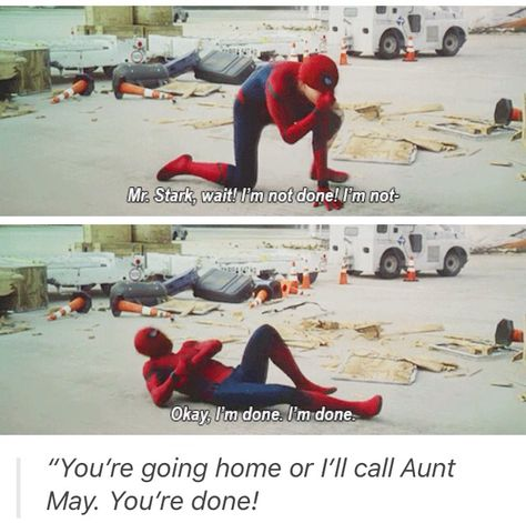 Peter Parker. I really liked this one. People need to stop saying he was too young. He was perfect.