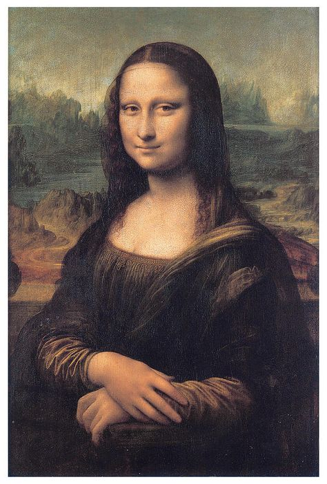 Oil Painting 'Leonardo Da Vinci-Mona Century' Printing On High Quality Polyster Canvas , Inch / Cm ,the Best Powder Room Decoration And Home Decor And Gifts Is This Reproductions Art Decorative Prints On Canvas
