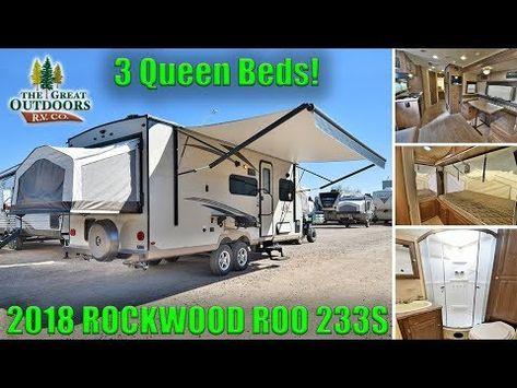 2012 Forest River Rockwood Roo Expandable 21dk For Sale Super