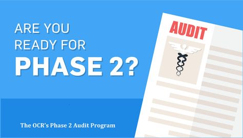 The Office For Civil Rights Ocr Newly Released The Phase  Audit
