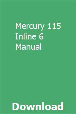 Mercury 115 Inline 6 Manual Lawn Tractor Tractors Push Lawn Mower
