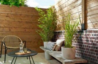 Une Cloture Esthetique Pour Delimiter Mon Jardin Panneau Jardin