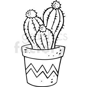 30+ Black Clip Art Cactus Clipart