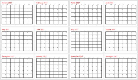 Month Calendar Template   Bing Images  Health  Exercise