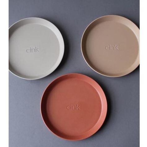 Plate 3 Pack Cink In 2020 Plates Plate Sets Bamboo