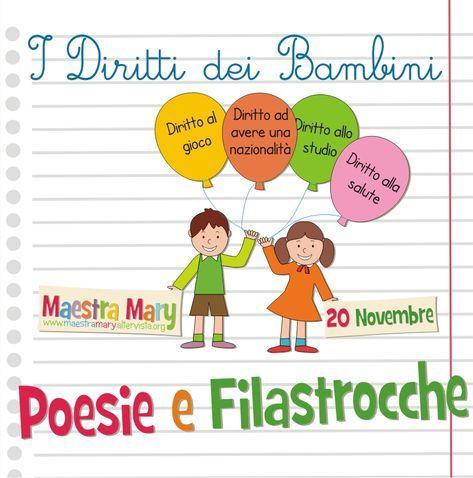 Poesie E Filastrocche Sui Diritti Dei Bambini Filastrocche