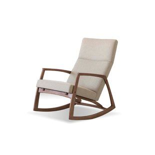 Pleasing Modern Contemporary Mid Century Modern Rocking Chair Onthecornerstone Fun Painted Chair Ideas Images Onthecornerstoneorg