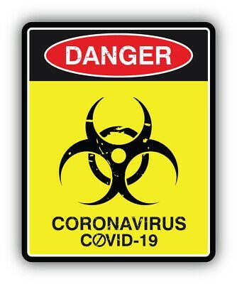 """Danger Handmade Slogan Sign Car Bumper Sticker Decal /'/'SIZES/"""""""