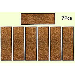 Stair Tread Rugs You Ll Love Wayfair Stair Tread Rugs Stair | Wayfair Carpet Stair Treads | Tucker Murphy | Carpet Runners | Oaks Godinez | Stair Railing | Beige Carpet